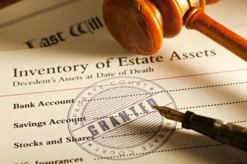 inventory of estate assets to avoid dying without a will